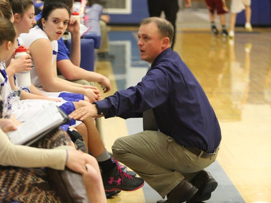 Nate Hammond is the head coach of the Malta M-Ettes. His teams have won two state championships.