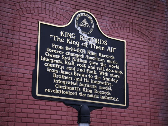 At the former King Records complex in the Evanston neighborhood of Cincinnati on Wednesday, Jan. 18, 2017. At its peak, the racially integrated label employed more than 400 people and was the nation's sixth-largest record company.