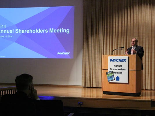 Paychex 2014 meeting