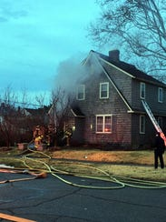 Lancaster fire fighters responded to a house fire at