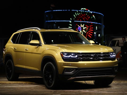 7 Passenger Suv >> Vw Introduces New American Built 7 Passenger Suv