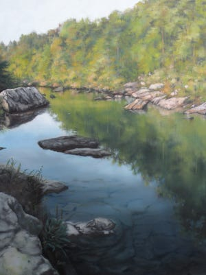 River Bend by Lisa Thames is on display through Sept. 27 at Lauren Rogers Museum of Art.