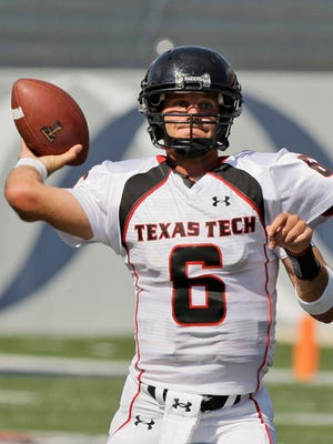 Graham Harrell became a record-setting quarterback during his time at Texas Tech.