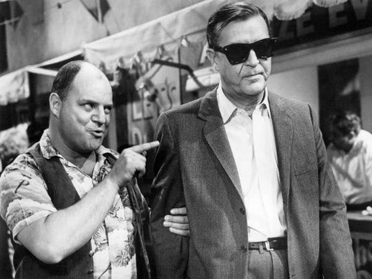 Don Rickles and Ray Milland in X - The Man with the X-ray Eyes.