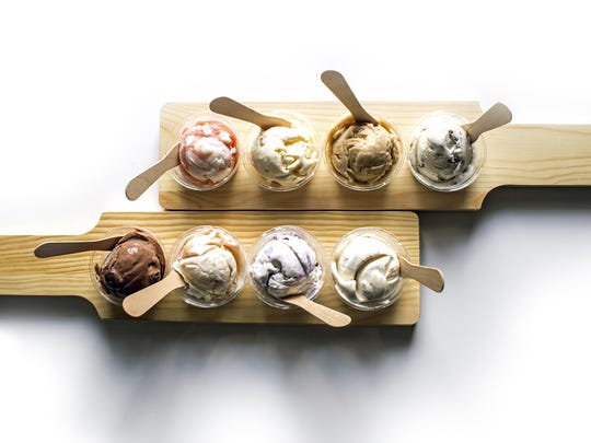 Vegan Flight Nights at the Hop Ice Creamery are monthly.