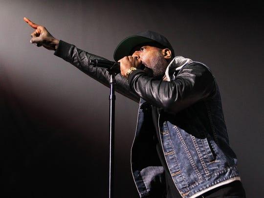 Talib Kweli performs at Verizon Center on Nov. 18,