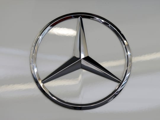 Mercedes logo. Enquirer file