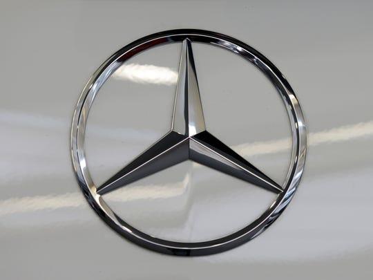 Mercedes logo. Enquirer file