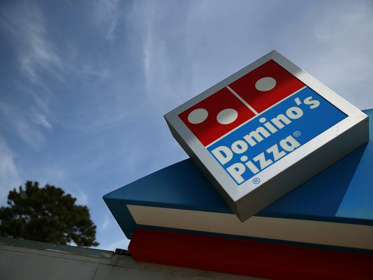 DOMINO'S PIZZA SUED