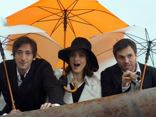 """""""The Brothers Bloom"""" features Adrien Brody, Rachel Weisz and Mark Ruffalo."""