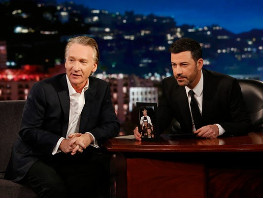 BILL MAHER, JIMMY KIMMEL