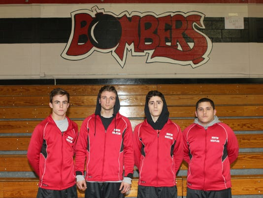 Boonton wrestling captains