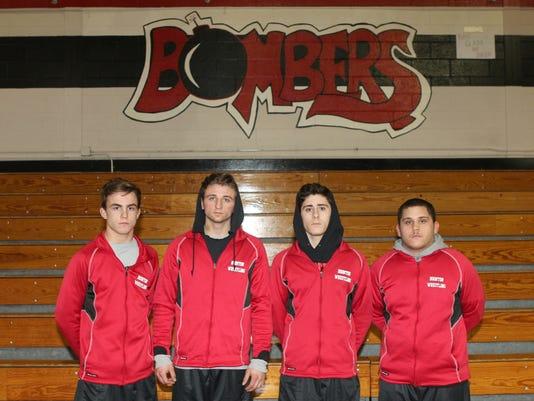 Boonton wrestling captains