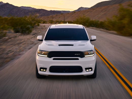 Dodge Claims 2018 Durango Srt Will Be The Most Powerful 3 Row Suv