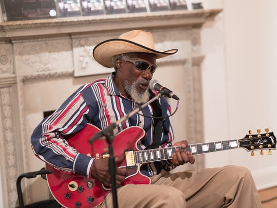 "Robert ""Guitar"" Finley at Variety at the Masur Museum"