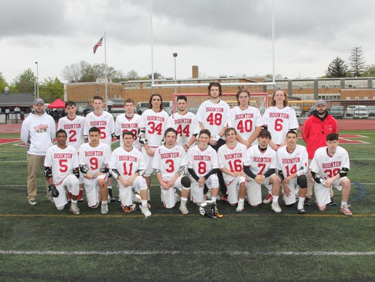 Boonton boys lacrosse
