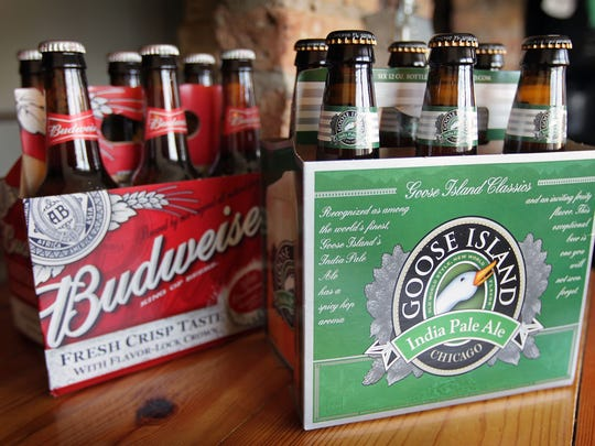 Budweiser parent company ABInBev purchased Chicago's Goose Island Brewing in 2011.