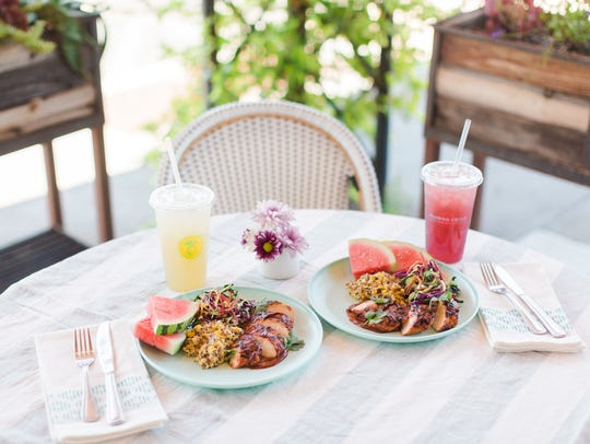 The Endless Summer Labor Day Plate at Flower Child.