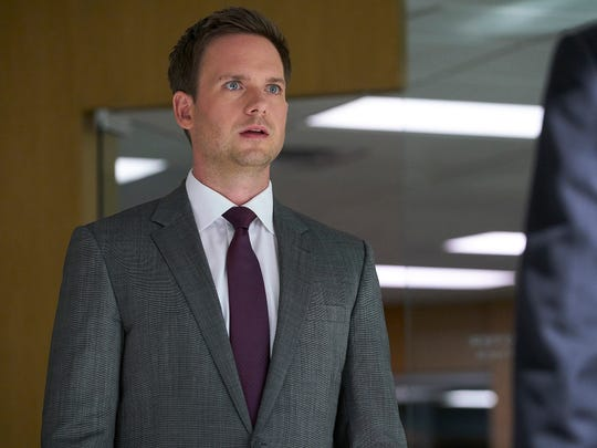 "Actor Patrick J. Adams, who starred on USA Network's ""Suits,"" leads the cast of ""The RIght Stuff"" TV show."