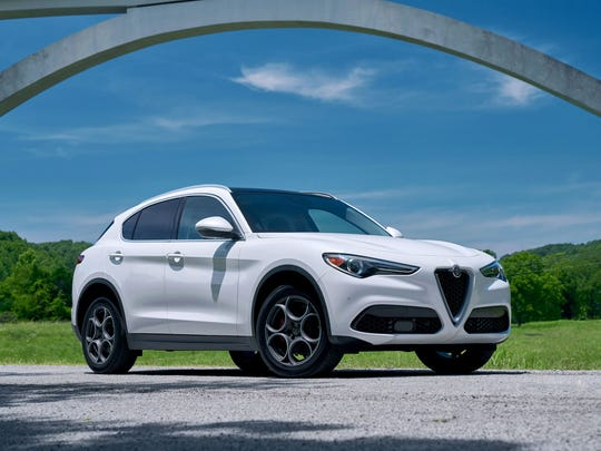 The 2018 Alfa Romeo Stelvio is one of three finalists for North American Utility Vehicle of the Year.
