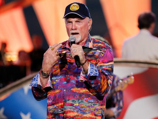 Mike Love, pictured in 2016, brings his Beach Boys