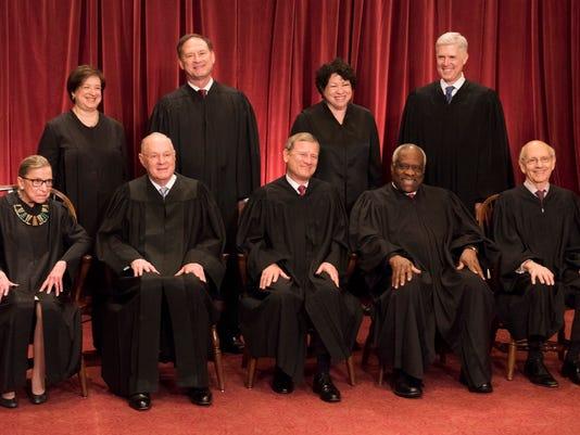 USP NEWS: SUPREME COURT JUSTICES A USA DC
