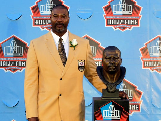 Chris Doleman was inducted into the Pro Football Hall of Fame in 2012.