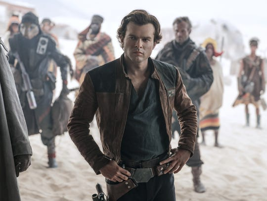 "Alden Ehrenreich is Han Solo in ""Solo: A Star Wars"