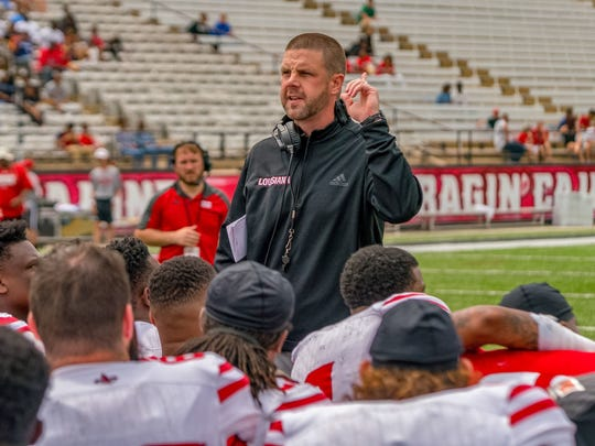 UL Lafayette coach Billy Napier was an assistant to Nick Saban at Alabama and Dabo Swinney at Clemson.