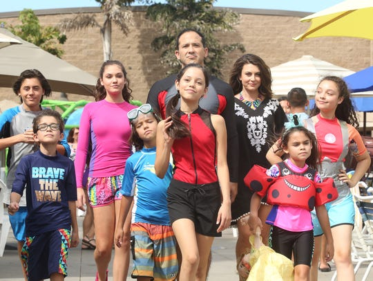 """Stuck in the Waterpark - The Movie"" - The Diaz family"
