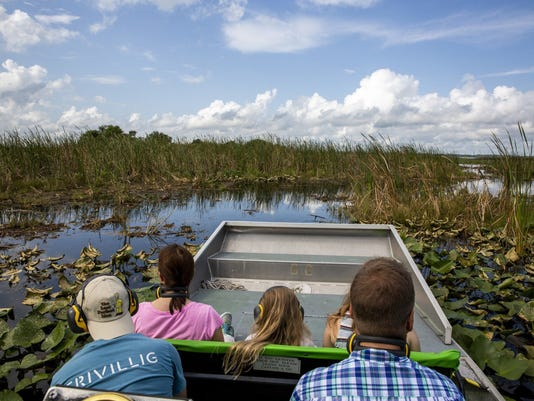 Central Florida Explorer: Up close with nature on an airboat ride