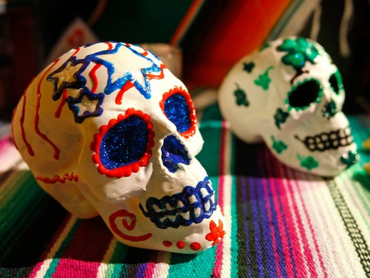 Day of the Dead festivals around the Valley will feature delicious foods, merchandise, jewelry, arts and crafts.