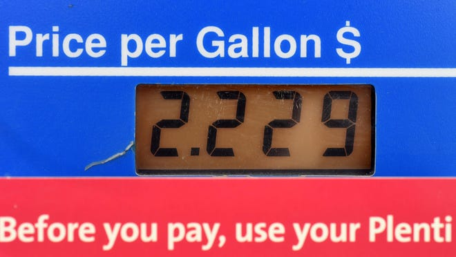 The 9/10th cent at the end of a gas price is a marketing ploy that's been used since the early 20th century.