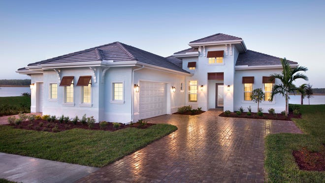 Stock Signature Homes' Venice model at Naples Reserve.