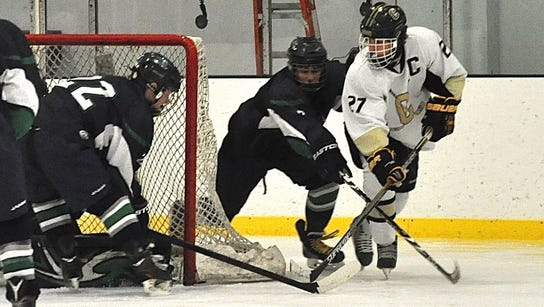 Clarkstown's Adam Marvin, who'd score the game-tying