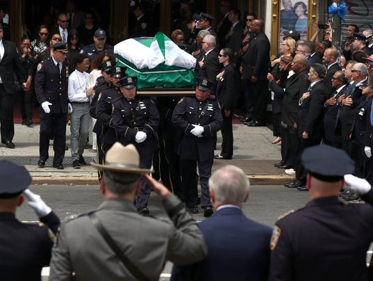 EPA USA NEW YORK NYPD OFFICER FUNERAL CLJ POLICE USA NY