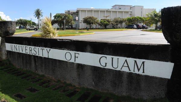 The University of Guam.