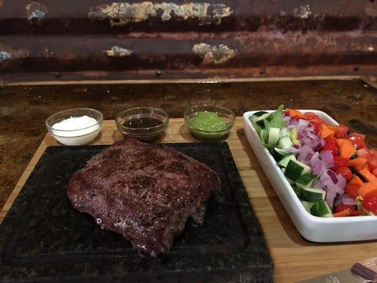 Great Steak on a Stone