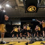 14 photos: Iowa women's basketball practice