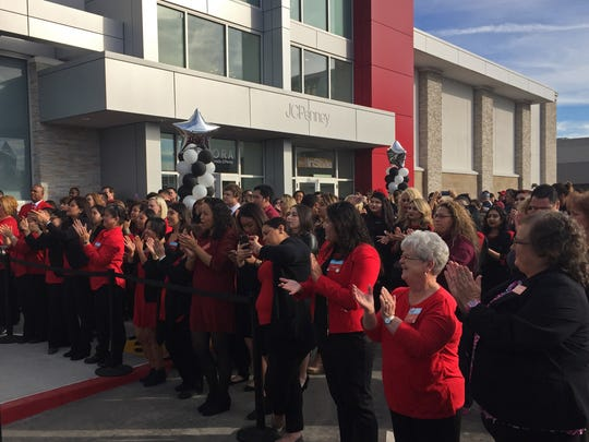 Salinas JCPenney employees cheer at the prospect of working in a brand new store