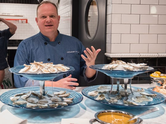 Executive chef Kevin Downing of Rehoboth Beach's Chesapeake & Maine, which opened in March.