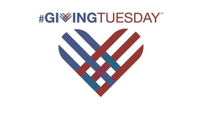 Giving Tuesday falls on Dec. 1