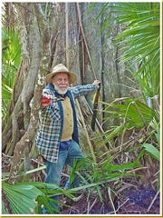 Bob Gore at Big Cypress National Preserve, near his