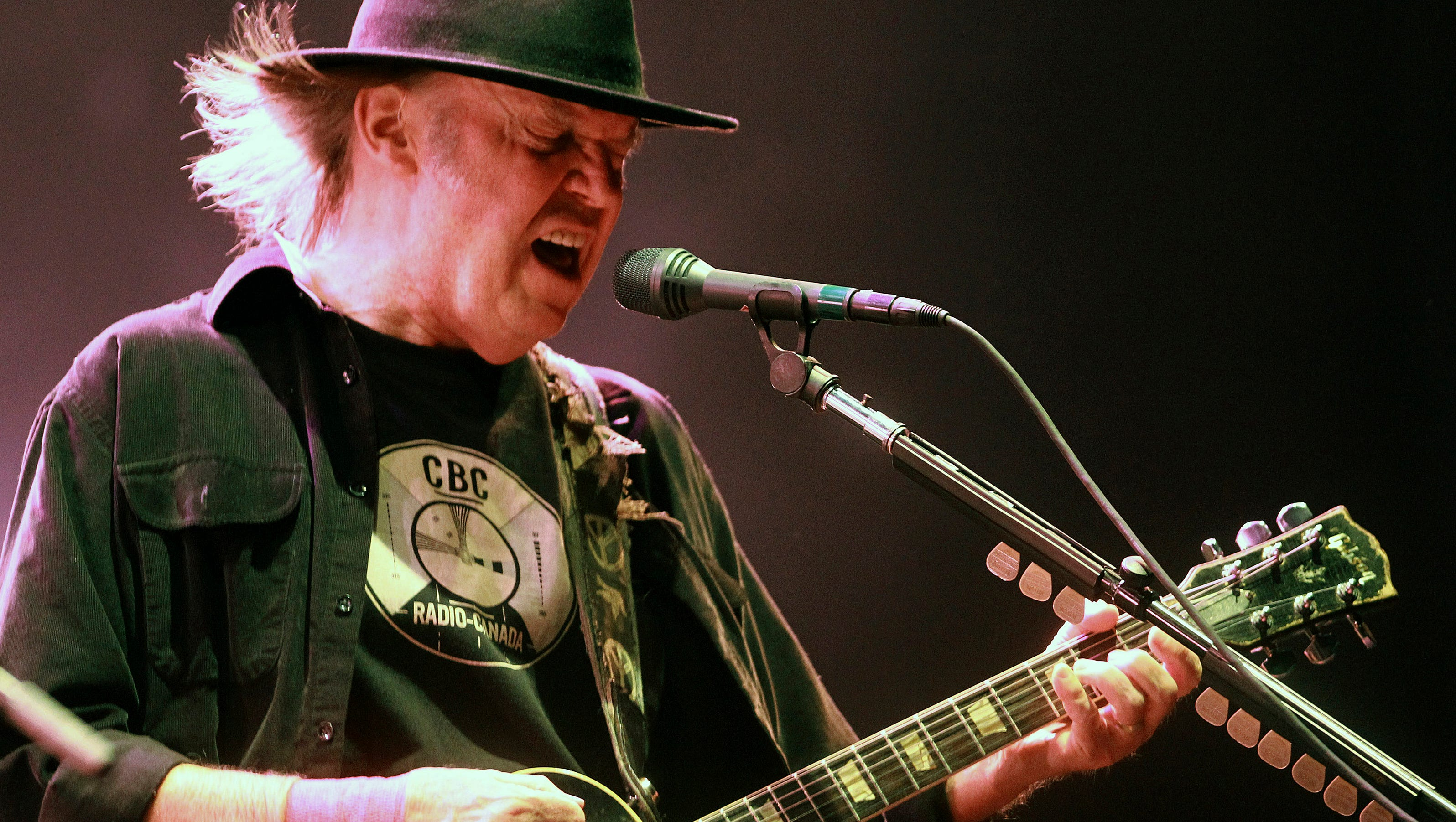 Neil Young North American Tour