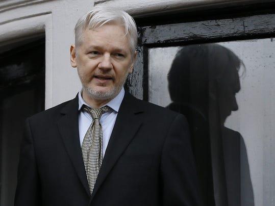 Assange mug
