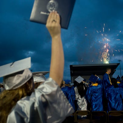 Graduation rates in Martin, St. Lucie and Indian River
