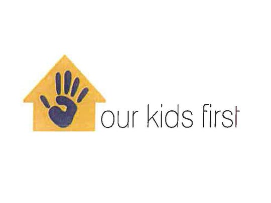 Our Kids First logo