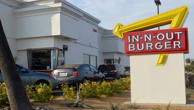 In-N-Out is a popular fast casual eatery on the corner Walnut Avenue and Mooney Boulevard  in Visalia. A rumor of a second location was denied by city officials.