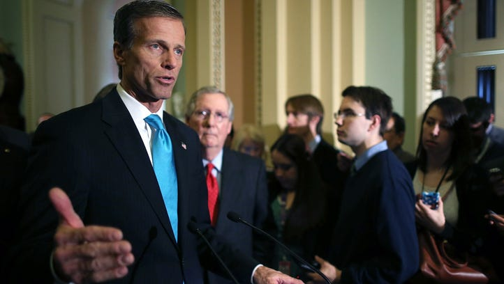 Sen. John Thune, R-S.D.,  is giving $2 million from his  campaign account to help other Republicans as the party fights to keep control of the Senate.  Thune, a popular Republican who has risen to become third in GOP leadership in the Senate, ended the second quarter with nearly $12.5 million in cash on hand as he runs for a third term. The South Dakota Republican is being challenged by Jay Williams, a Yankton Democrat, who ended June with $23,930.  Even with the donation, the re-election campaign will still have over $10 million on hand.