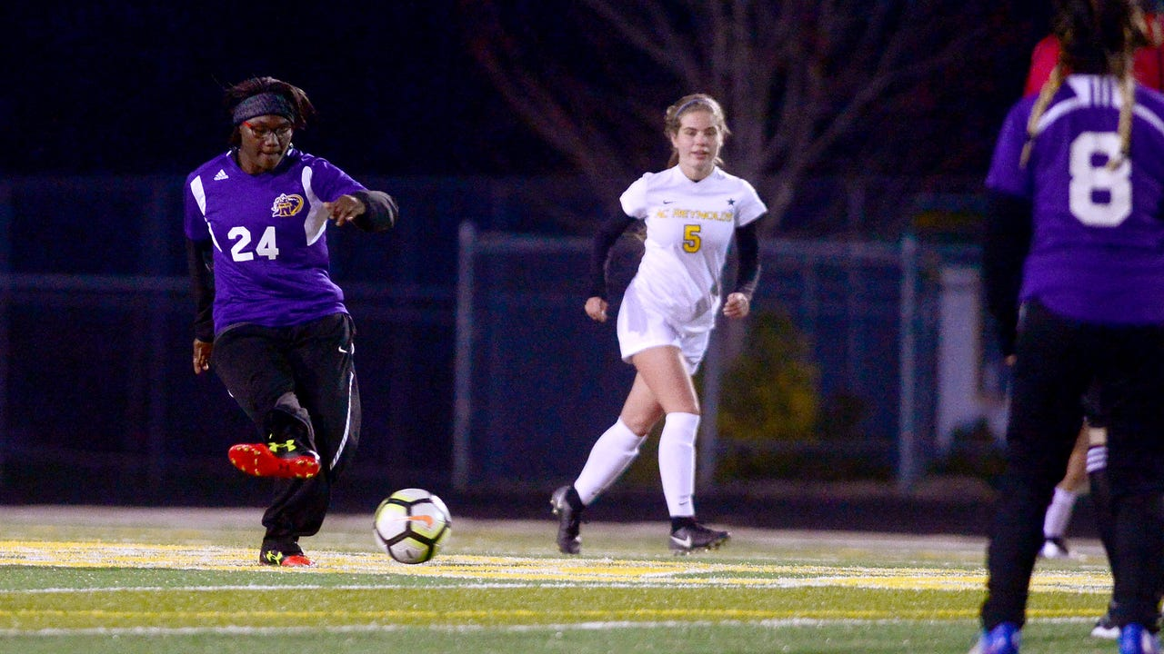 The Lady Rockets hosted North Henderson in soccer on Wednesday, March 7, 2018.